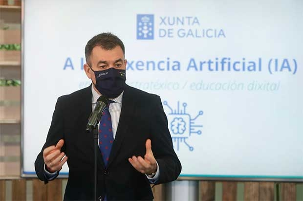 La Xunta pretende implantar la inteligencia artificial en todas las etapas educativas